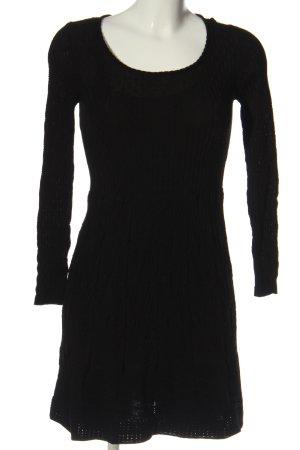 Missoni Sukienka z halką czarny W stylu casual