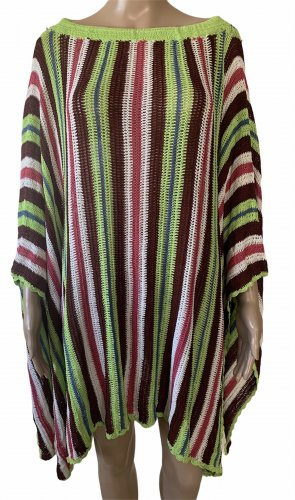 Missoni Poncho multicolore