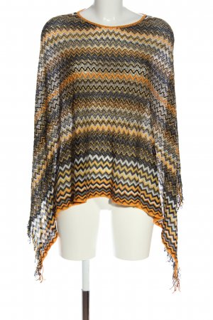 Missoni Poncho Webmuster Casual-Look