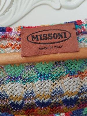 Missoni Pull à gosses mailles multicolore