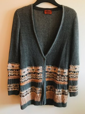 Missoni Pullover Long Cardigan Oversize Lurex Strick M