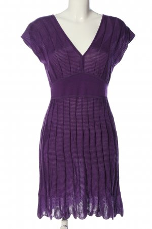 Missoni Sweater Dress lilac casual look