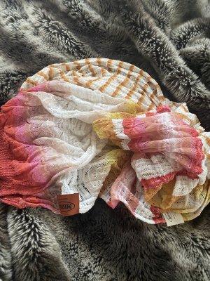 Missoni Chal veraniego rojo frambuesa-rosa