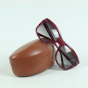 MISSONI Sonnenbrille rot gestreift (20/12/091*)