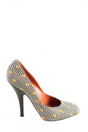 Missoni Spitz-Pumps abstraktes Muster Casual-Look
