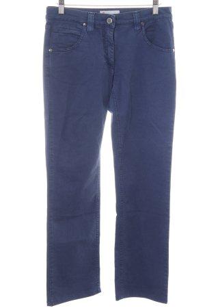 Missoni Spodnie materiałowe ciemnoniebieski Prosty styl
