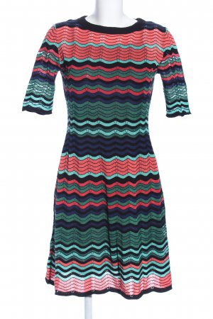 Missoni Strickkleid Streifenmuster Party-Look
