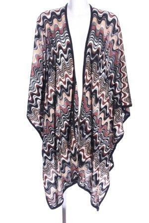 Missoni Poncho en tricot motif graphique style décontracté