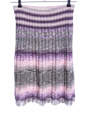 Missoni Strickrock grafisches Muster Casual-Look