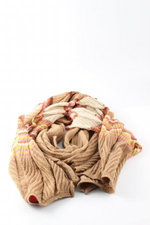 Missoni Knitted Scarf striped pattern casual look