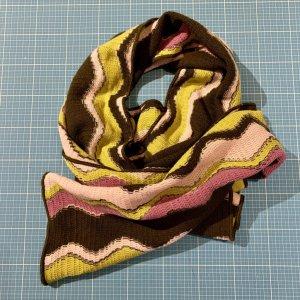 Missoni Gebreide sjaal veelkleurig