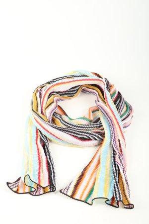 Missoni Écharpe en tricot motif rayé style décontracté