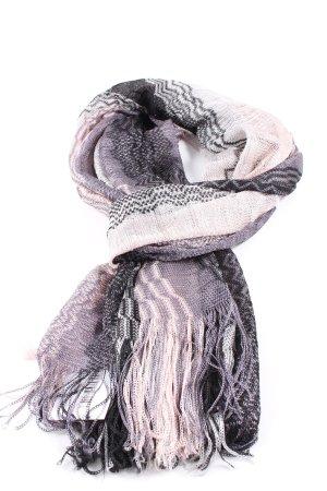 Missoni Strickschal hellgrau-pink Casual-Look