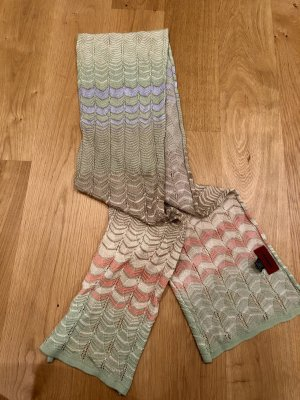 Missoni Knitted Scarf multicolored