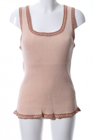 Missoni Knitted Top natural white casual look