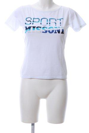 Missoni T-Shirt Motivdruck Casual-Look