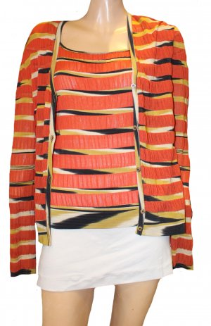 MISSONI Twinset Shirt Strickjacke Gr. 40