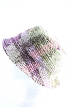 Missoni Woolen Hat check pattern casual look
