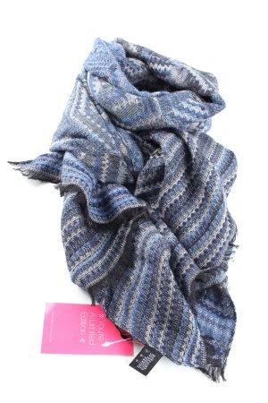 Missoni Wollschal blau Allover-Druck Casual-Look