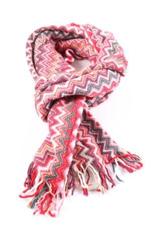 Missoni Wollschal pink-türkis Allover-Druck Casual-Look