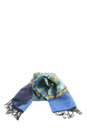 Missoni Woolen Scarf graphic pattern casual look