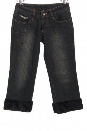 misswan 3/4 Jeans schwarz Casual-Look
