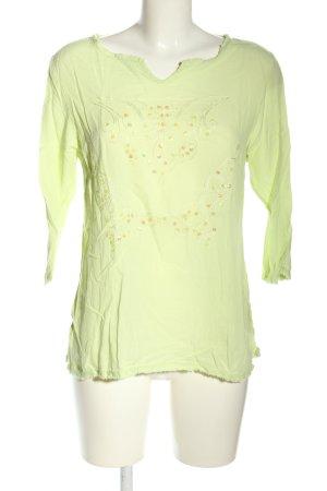 misswan Schlupf-Bluse grün Casual-Look