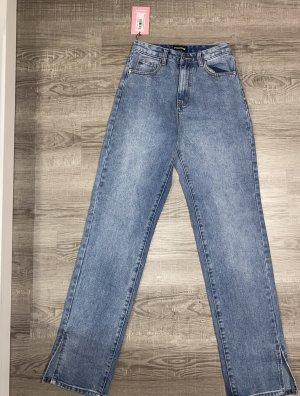 Missy empire Vintage Jeans mit schlitz NEU!