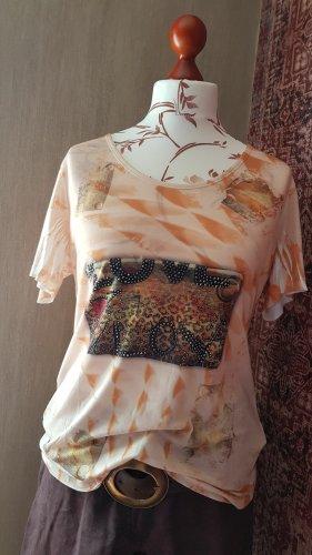 Missy Kurzarm Tunika Shirt XL 42
