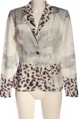 MIssy Sweatblazer abstract patroon casual uitstraling