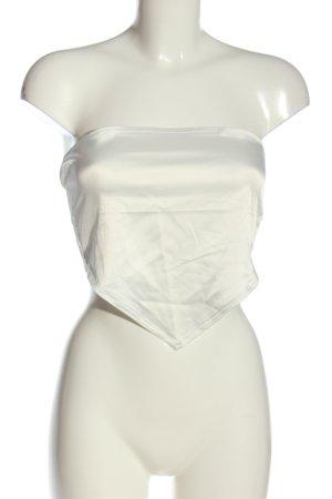 MissyEmpire Hauts épaule nues blanc style décontracté