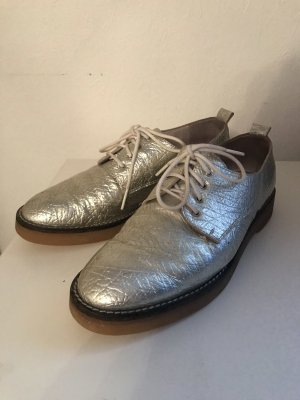 Oxfords silver-colored-light grey