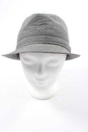 mister*lady Rain Hat light grey-black allover print casual look
