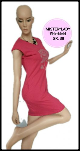 mister*lady Sweat Dress red-pink