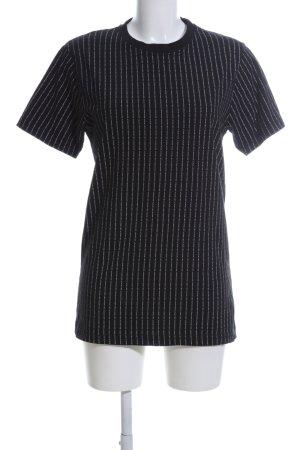 Mister Tee T-Shirt schwarz-weiß Schriftzug gedruckt Casual-Look