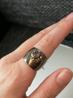 mistik Topas, Silber Ring