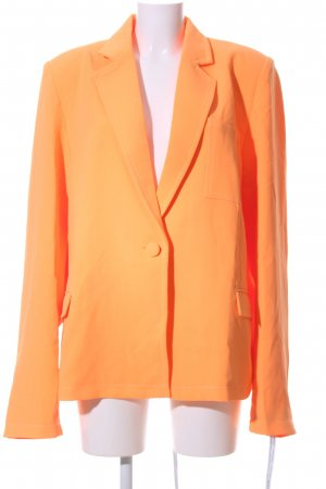 Mistress Rocks Long-Blazer hellorange Business-Look