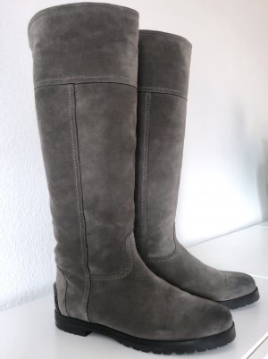 Kennel & Schmenger Fur Boots grey leather