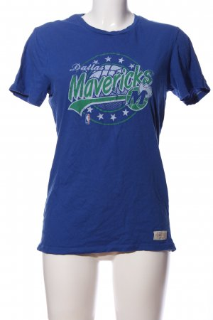 Mitchell & Ness Print-Shirt Motivdruck Casual-Look