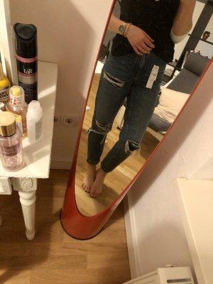 Topshop Boyfriend Jeans dark blue