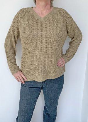 Amy Vermont Pullover a maglia grossa beige Acrilico