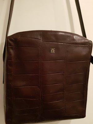 Aigner Crossbody bag dark brown