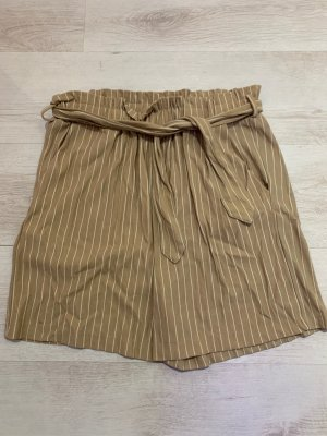 Mango High waist short beige-wolwit