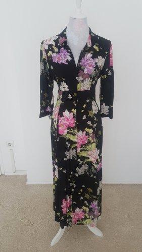 Mittellanges Sommerkleid von Zara, sehr tailliert