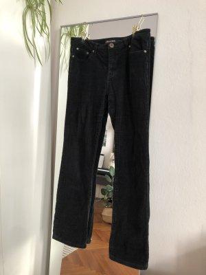 Vintage Corduroy broek donkerblauw