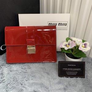 Miu Miu Pochette rouge