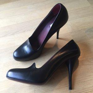 Miu Miu High Heels black leather