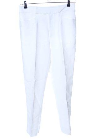 Miu Miu Pantalone da abito bianco stile professionale