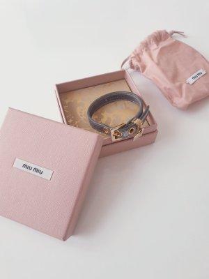 Miu Miu Armband gold silber