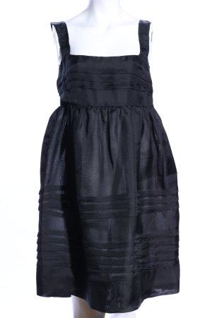 Miu Miu Babydollkleid schwarz Elegant